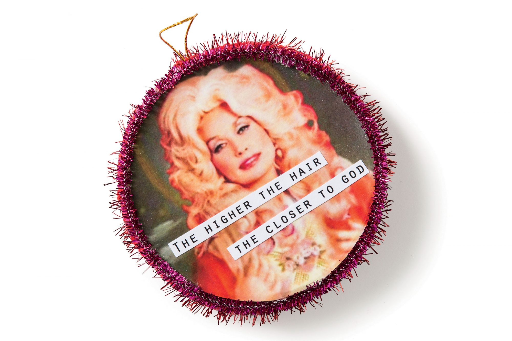 Lee Smith's Dolly Parton Ornament