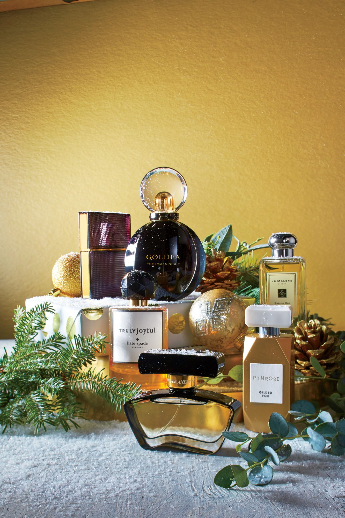 Spicy Holiday Scents