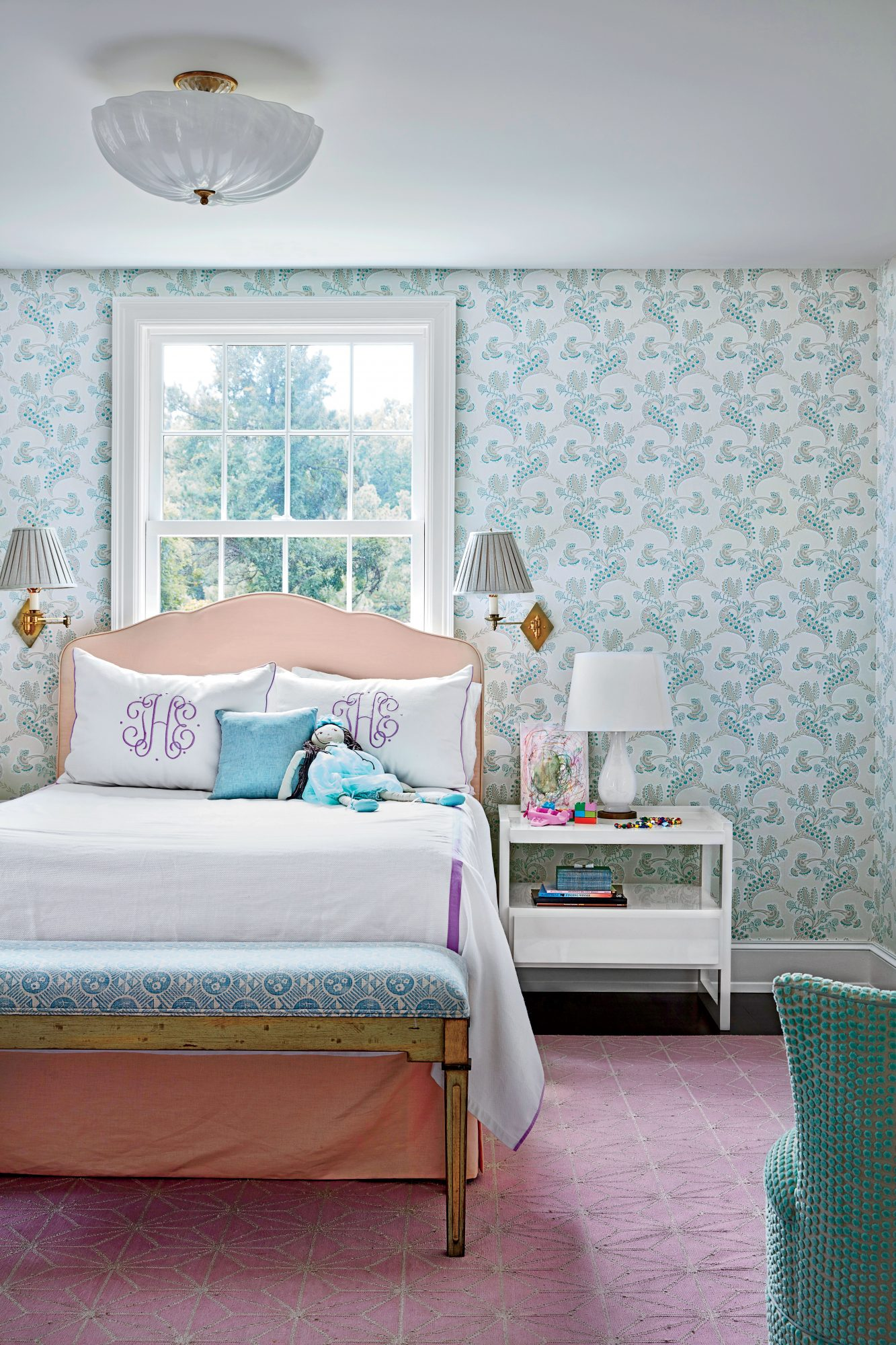 Chapel Hill House Girls Bedroom
