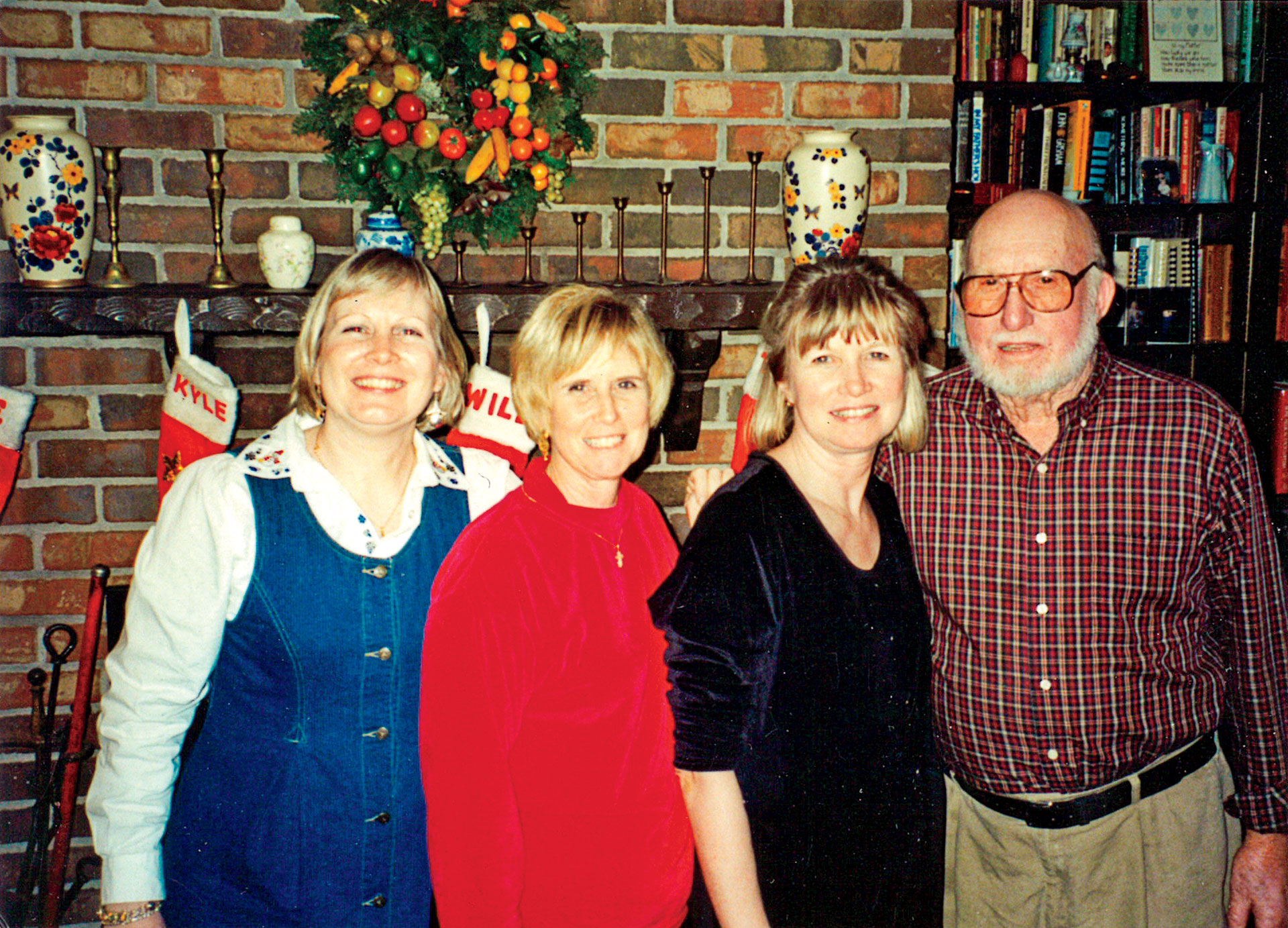 Cassandra King with her Sisters and Father