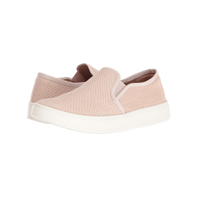 Snakeskin Slip-On Sneakers