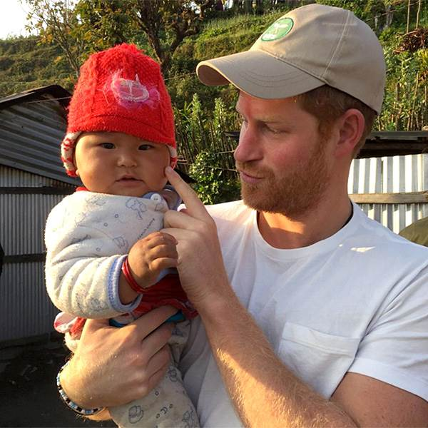 Prince Happy and Adorable Baby in Nepal