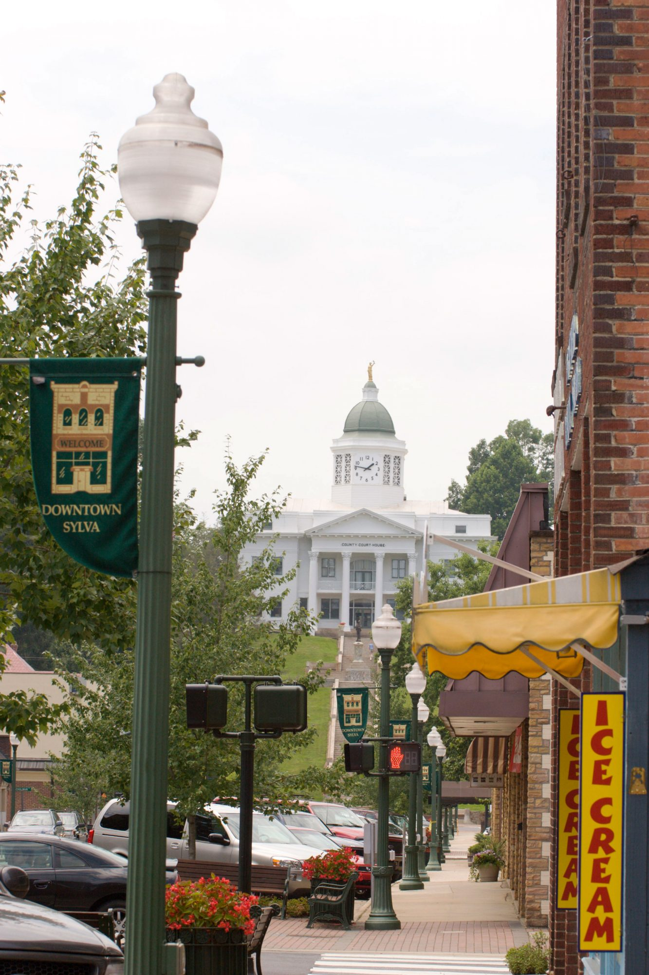 Main Street in Sylva, NC