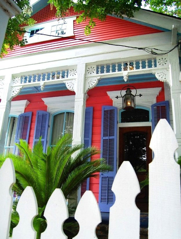 Patriotic House in New Orleans