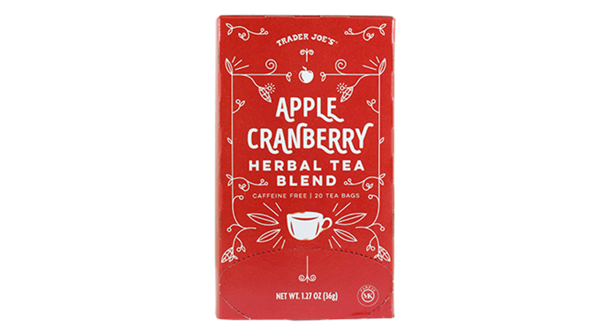Apple Cranberry Herbal Tea Blend