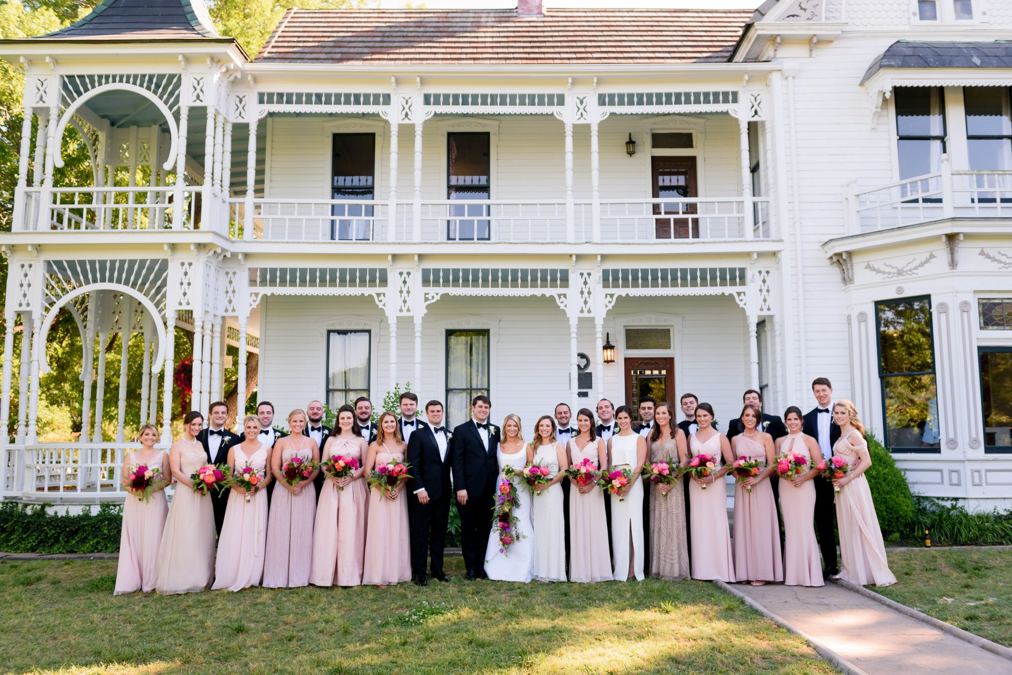 Texas-Sized Bridal Party