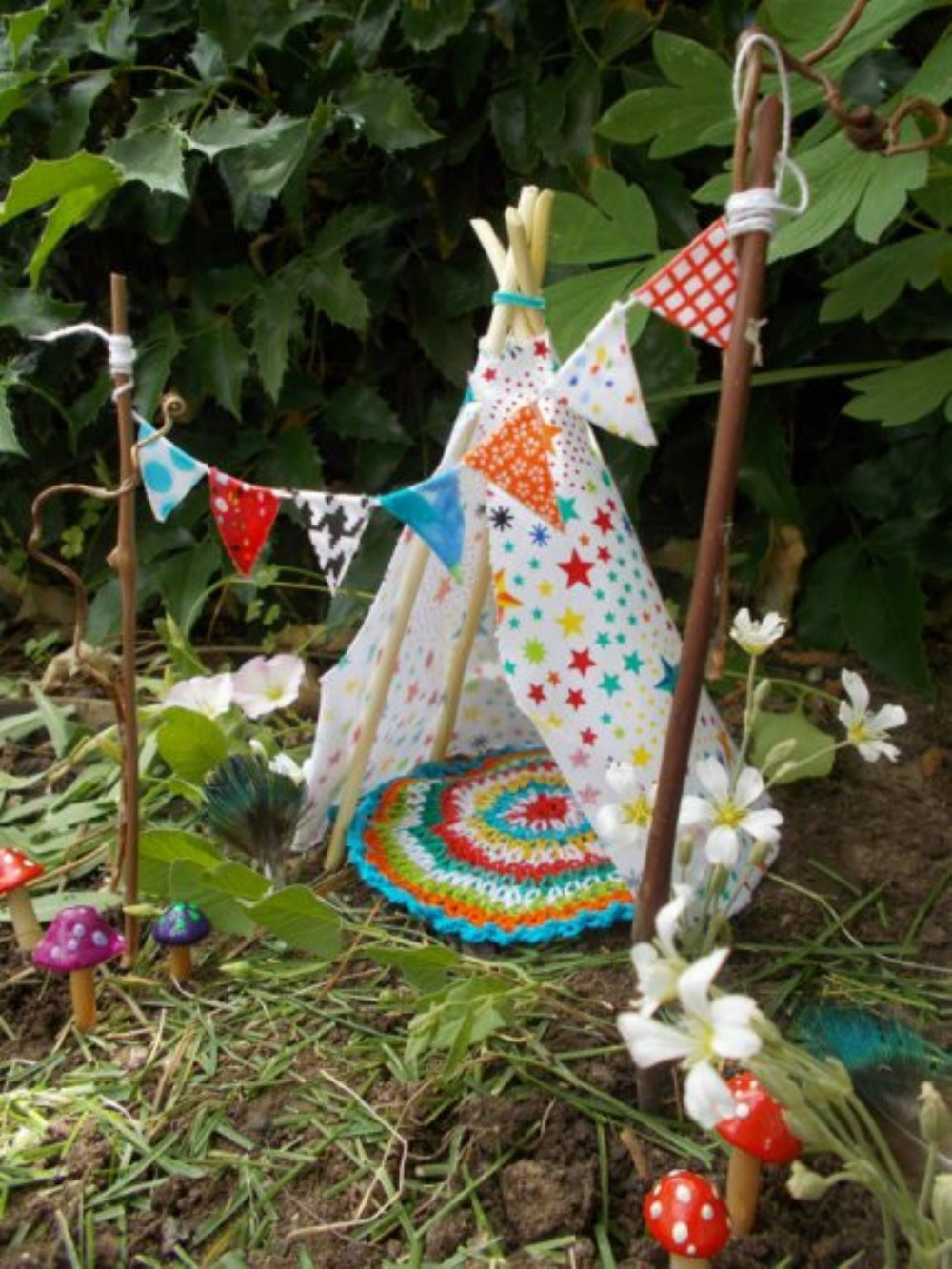 Teepee Fairy House