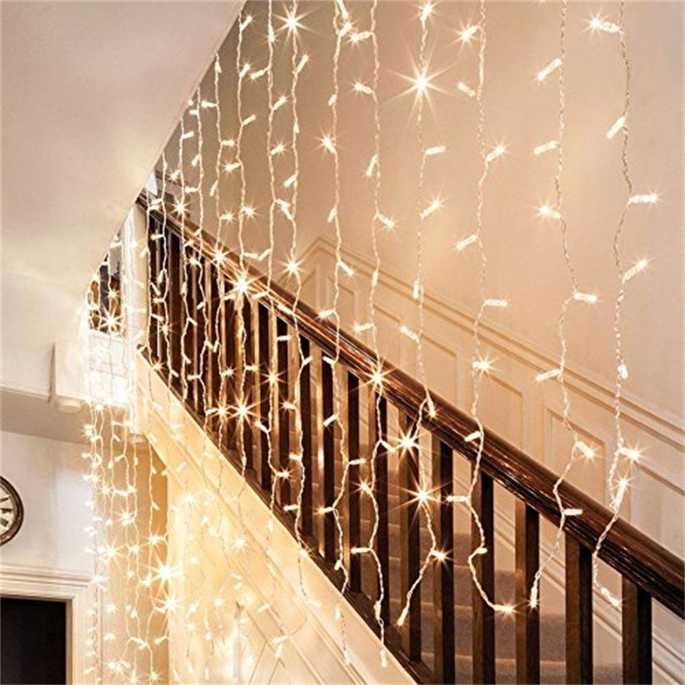 Stock Up On These Holiday Decorations Now Amazon Curtain Christmas Lights