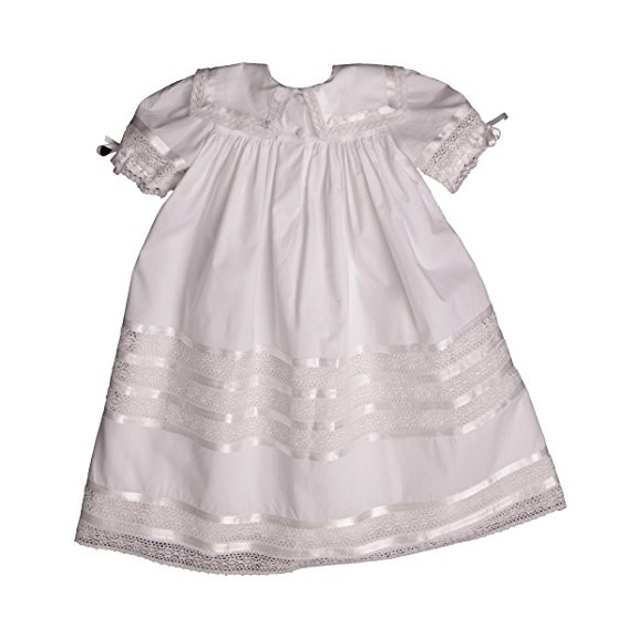 Most Adorable Flower Girl Dresses Amazon Strasburg Children's White Lace Dress