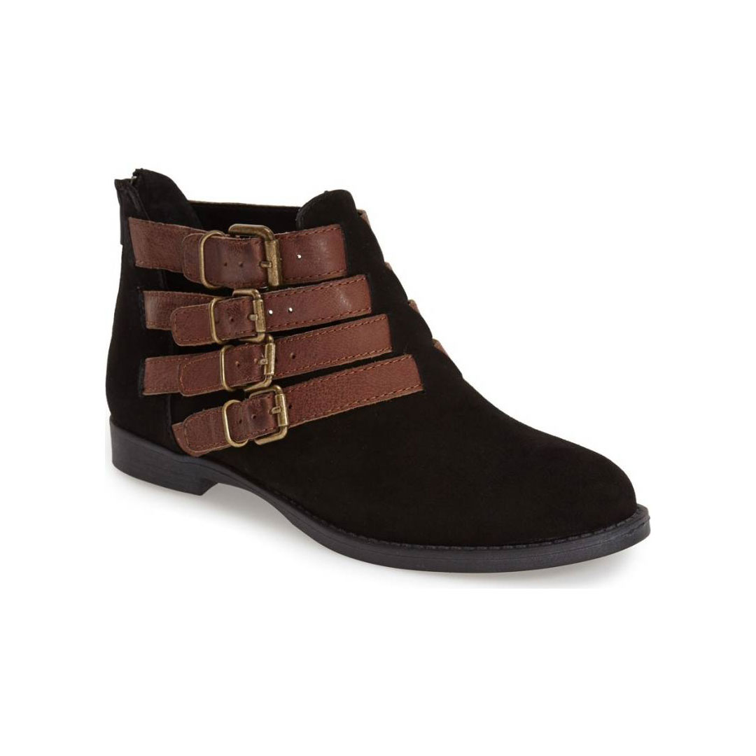 Bella Vita 'Ronan Buckle Leather' Ankle Boot