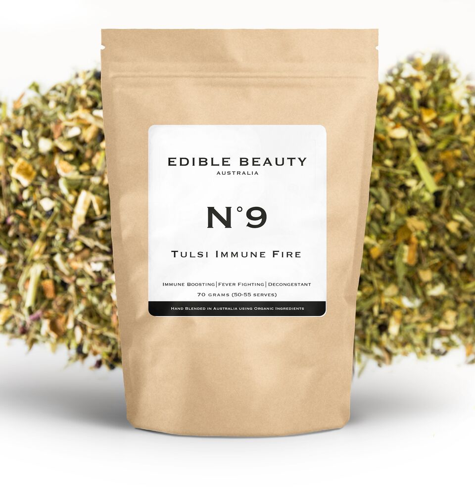 Edible Beauty, No. 9 Tulsi Immune Fire Tea