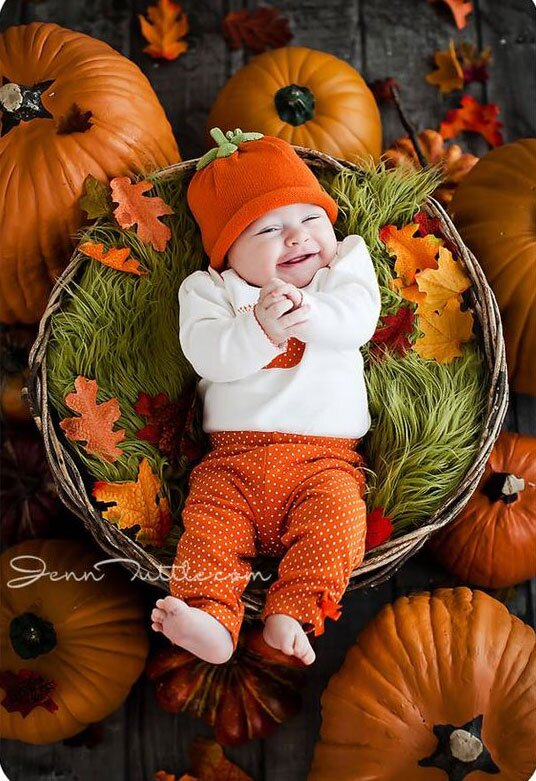 Baby Halloween Pumpkin.16 Adorable Photos Of Babies And Pumpkins To Make Your Day Southern Living