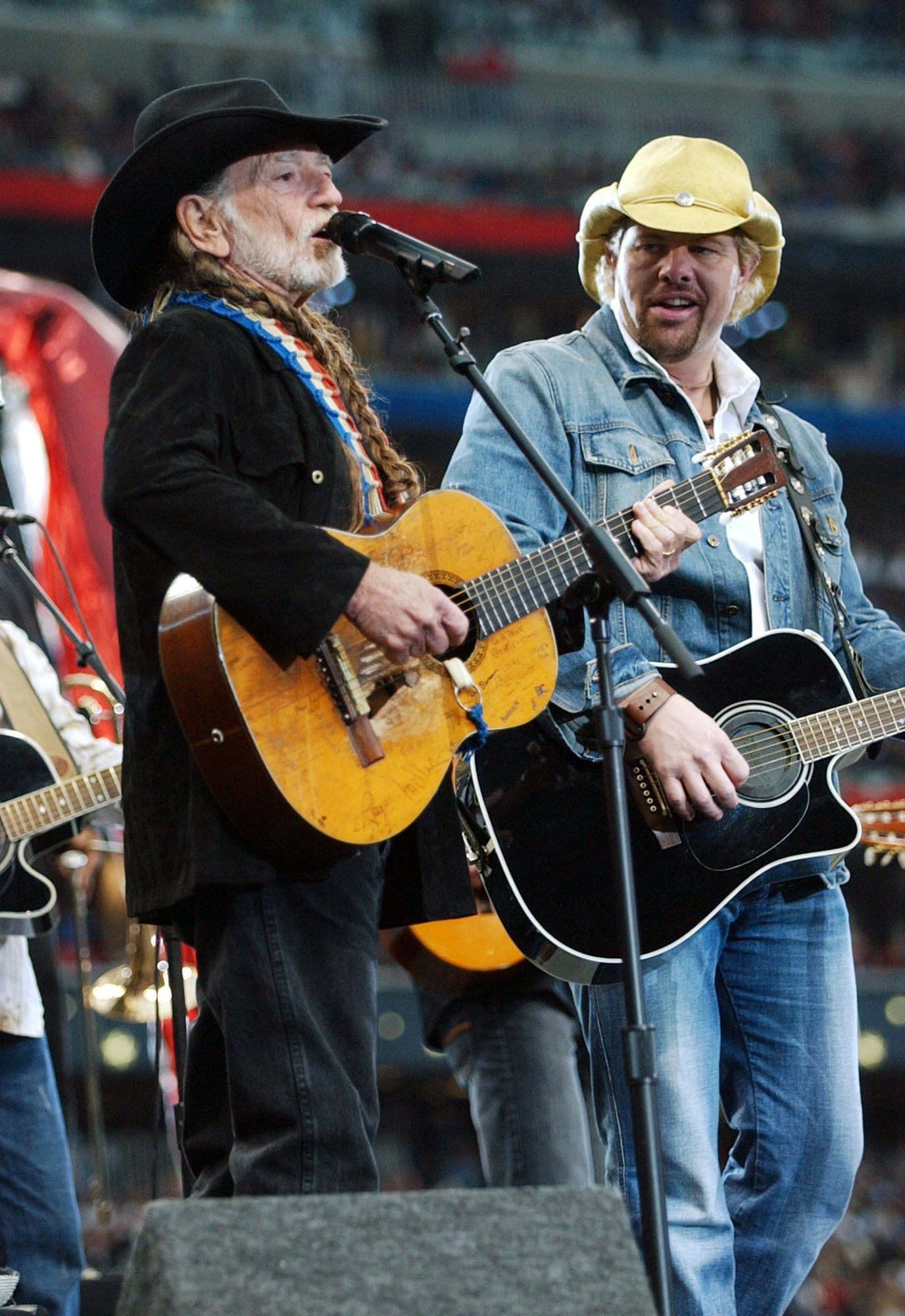Unforgettable Country Music Duets Toby Keith and Willie Nelson