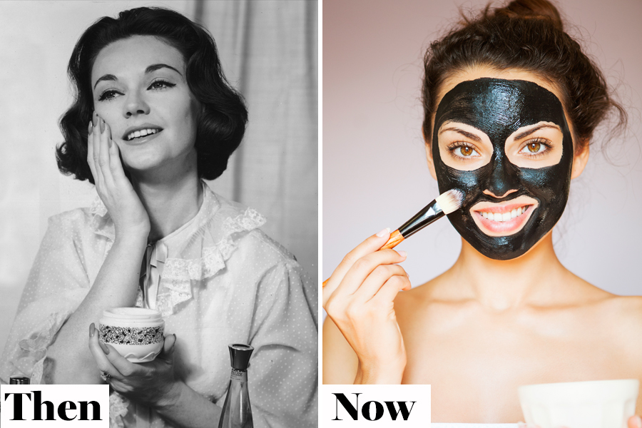 Then and Now Face Masks