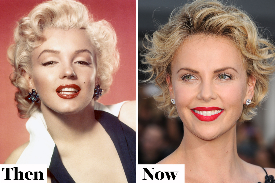 Then and Now: Red Lipstick