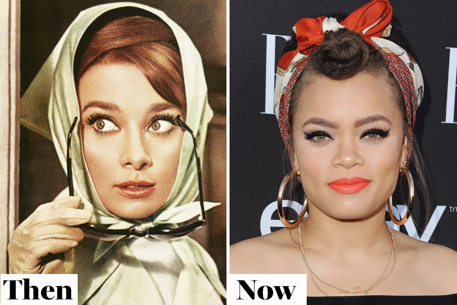 Then and Now: Headscarves