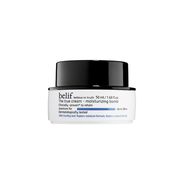 RX1707_ All-Time Best Skincare Secrets Belif The True Cream Moisturizing Bomb