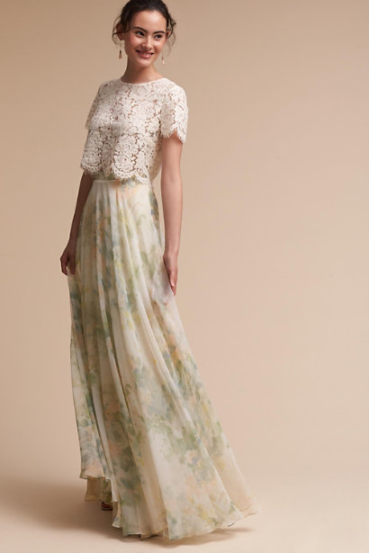 BHLDN Kenzie Top & Hampton Skirt