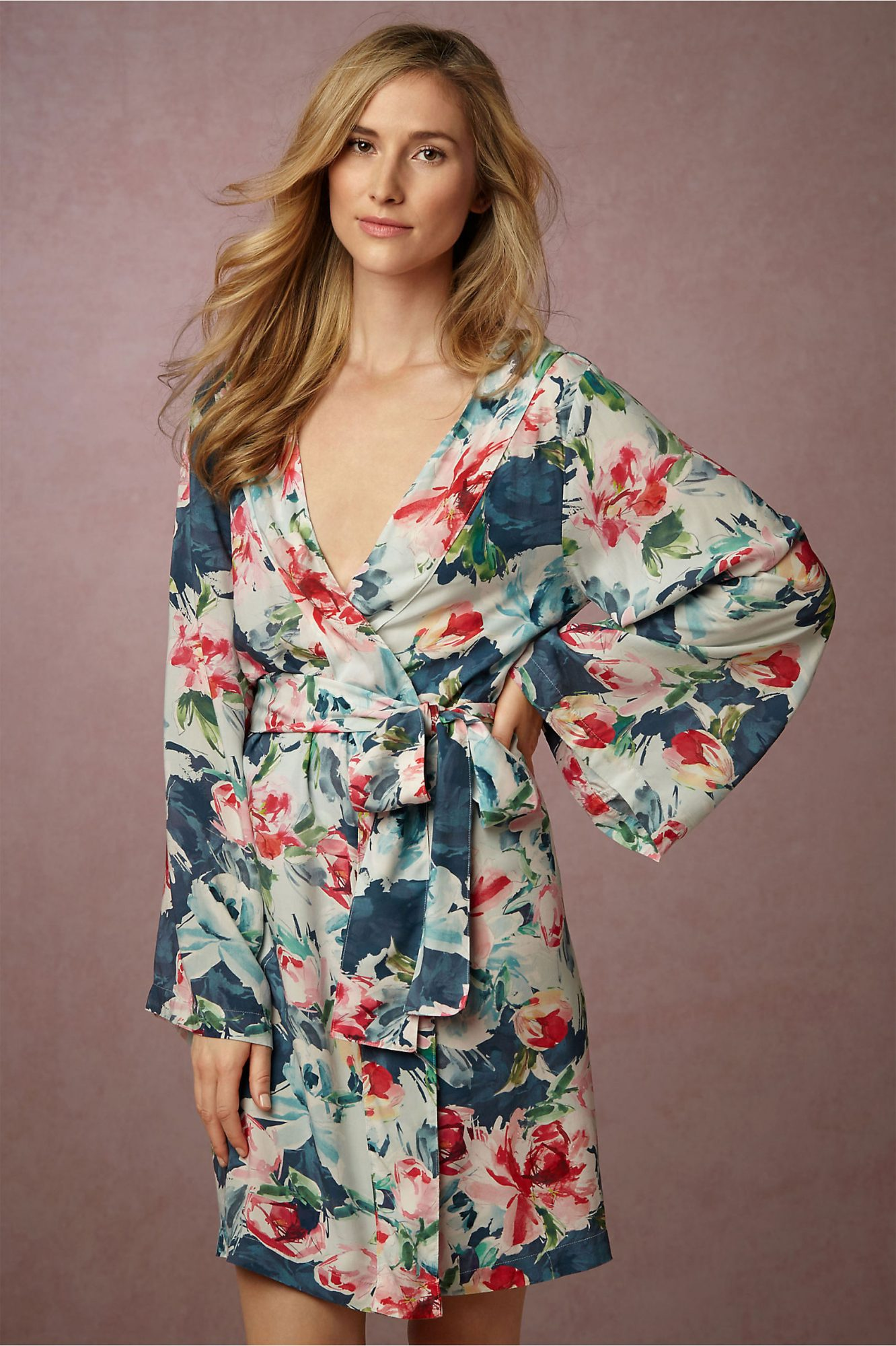 Botanic Garden Bridesmaid Robe