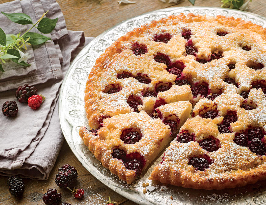 Blackberry, Browned Butter, and Almond Tart Recipe