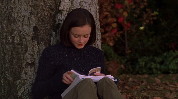 Rory Gilmore reading