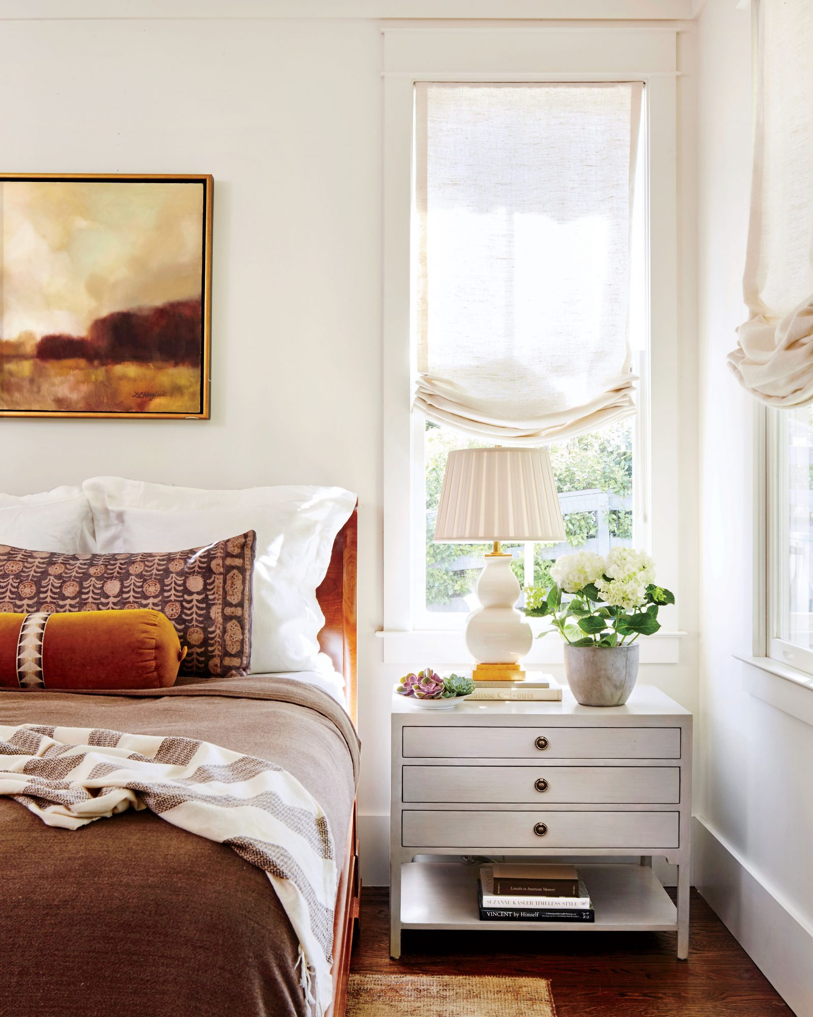 Anna Braund White Cottage Bedroom