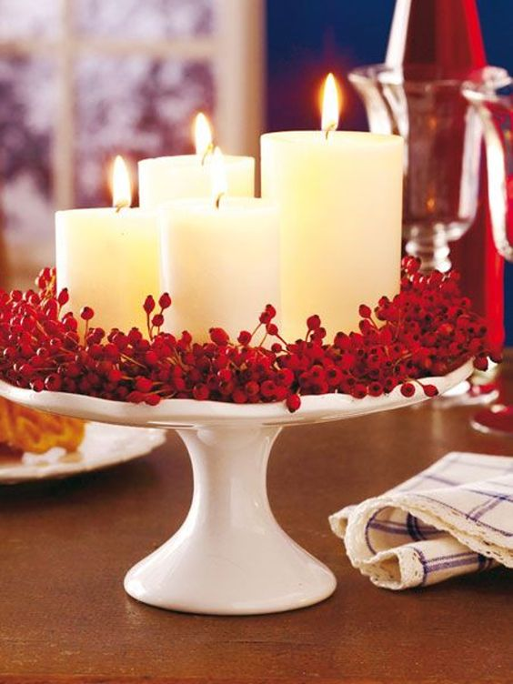 Cake Stand Candles