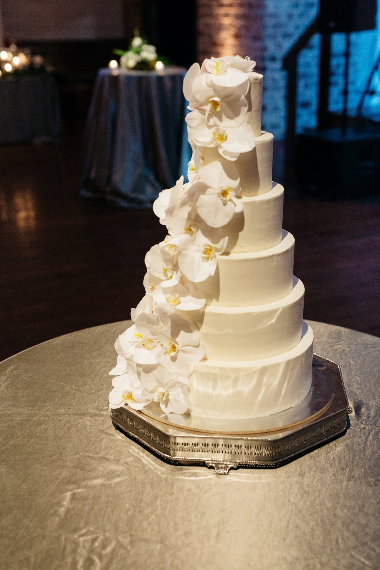 Cascading, Six-Tiered Cake