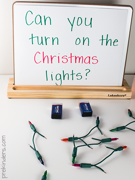 12 Ways to Use Your Christmas Lights in the Summer Christmas Light Science Experiment