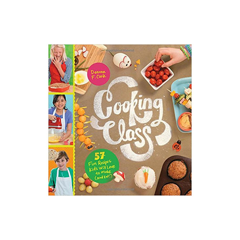 Cooking Class Children's Cookbook