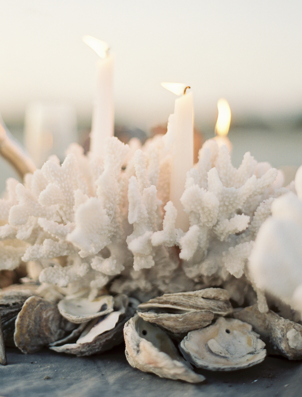 Coral Candles