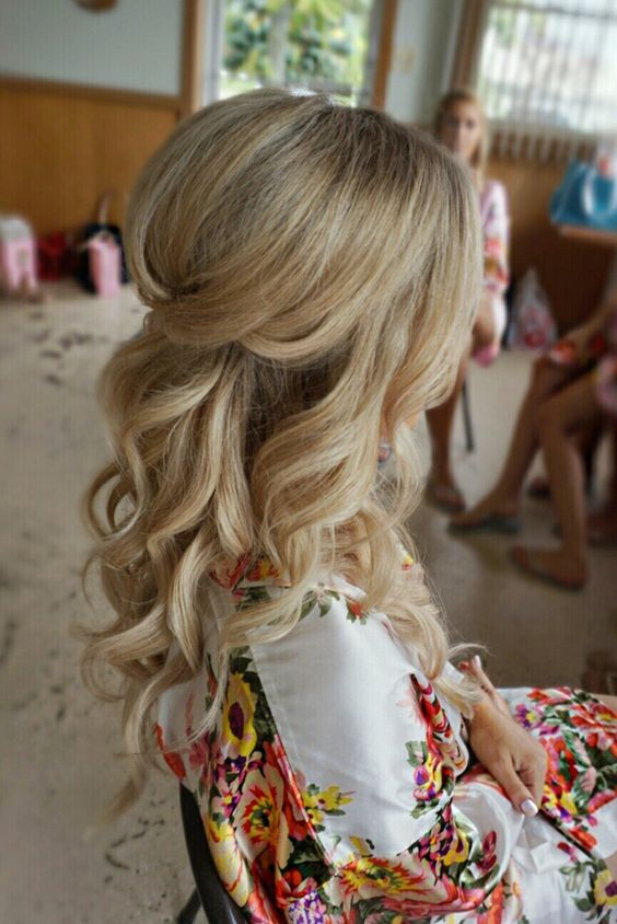Curled With Volume