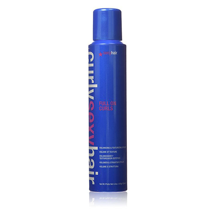 All-Time Best Hair Secrets Curly Sexy Hair Full On Curls Volumizing and Texturizing Styler