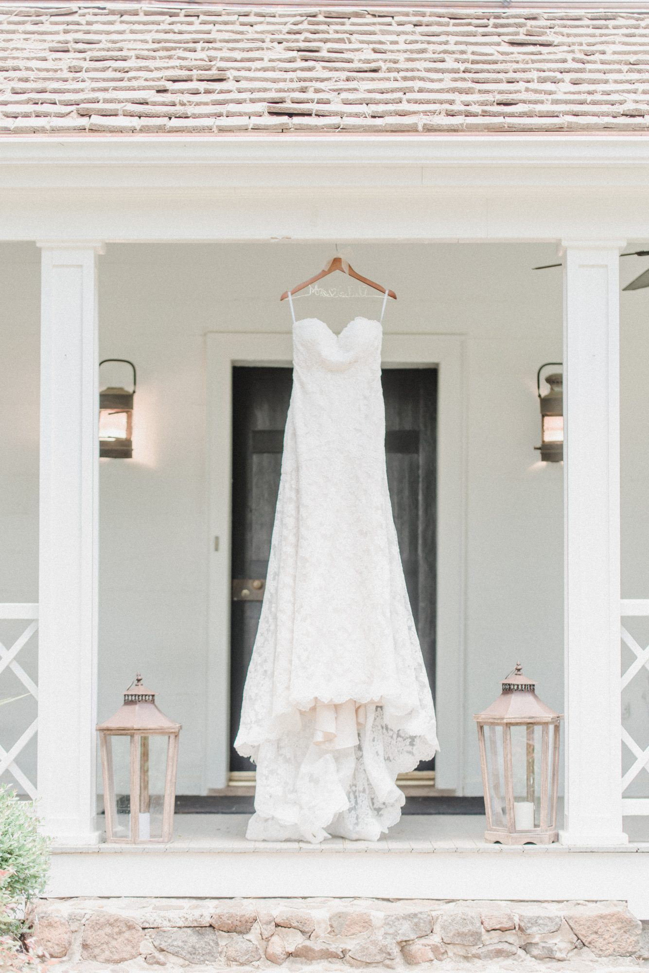 All-Over Lace Bridal Gown