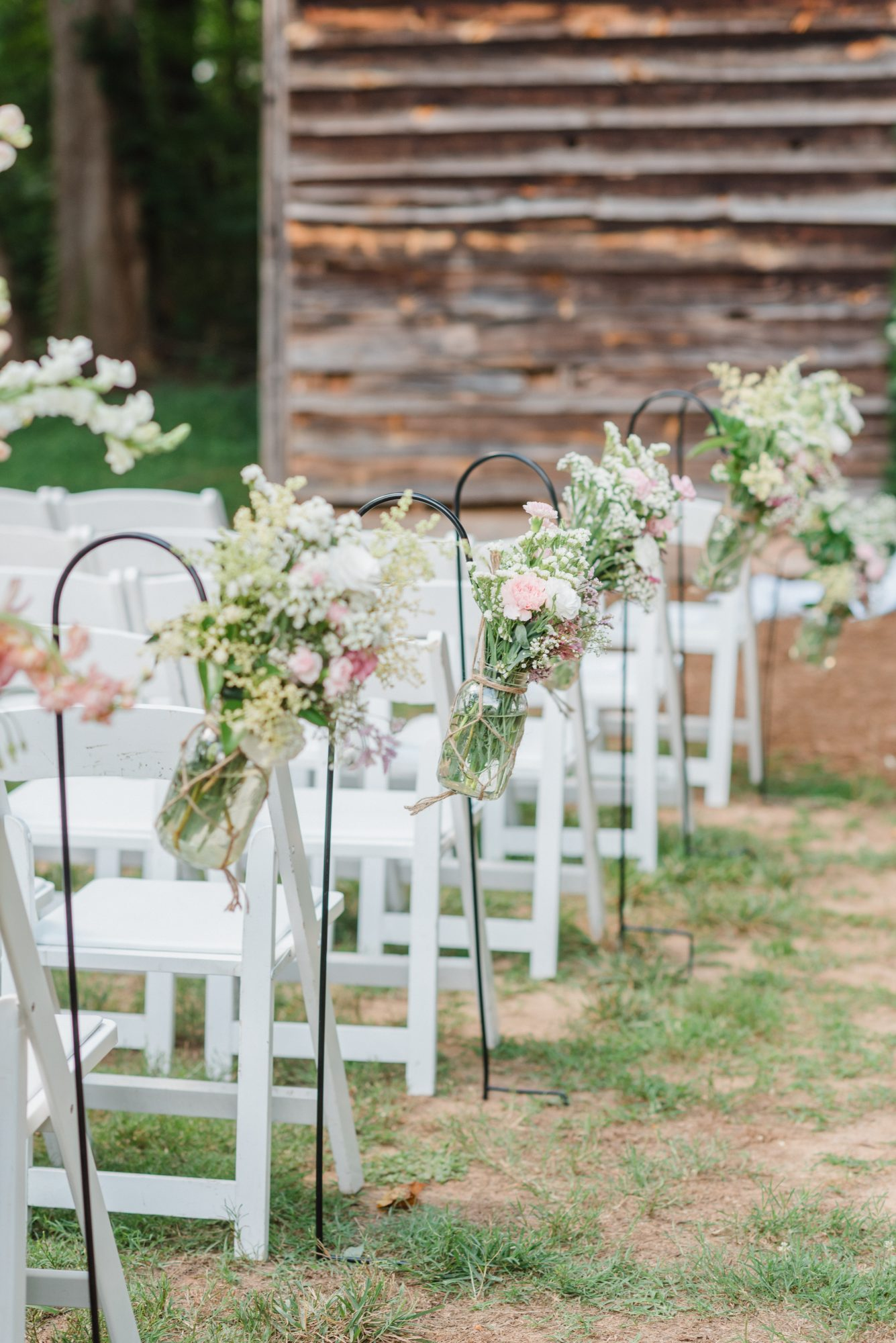 Baby's Breath Aisle Arrangements