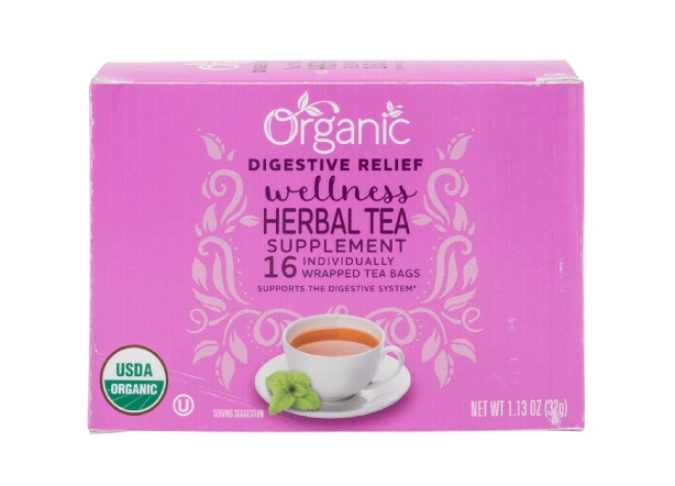 Lidl Organic Wellness Herbal Tea Digestive Relief
