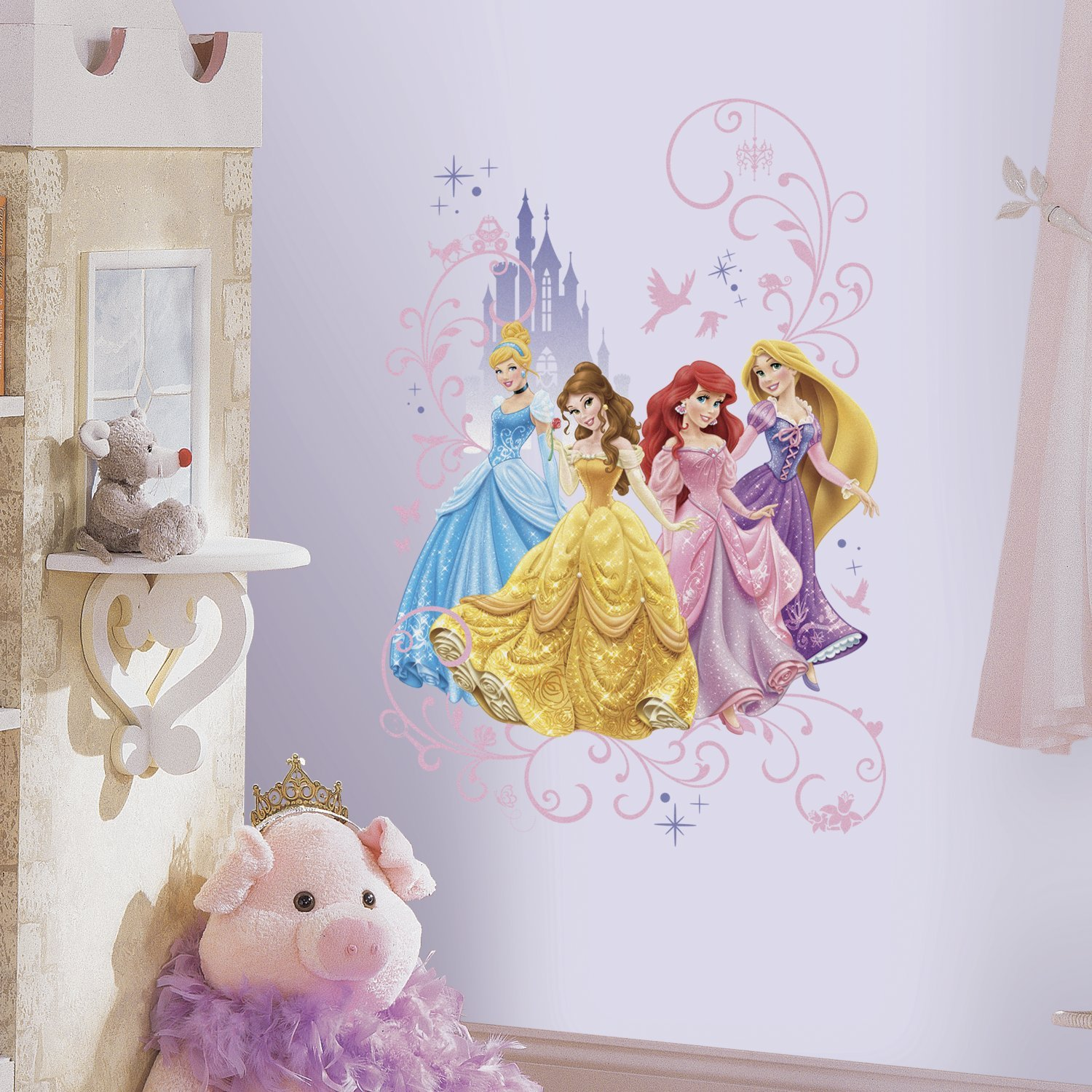 Disney Princess Peel and Stick Wall Graphic