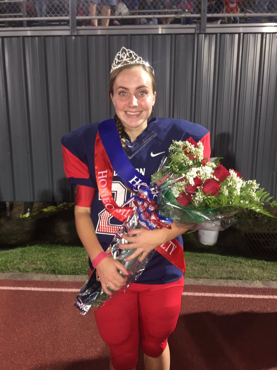 Claire Jeffress Homecoming Queen