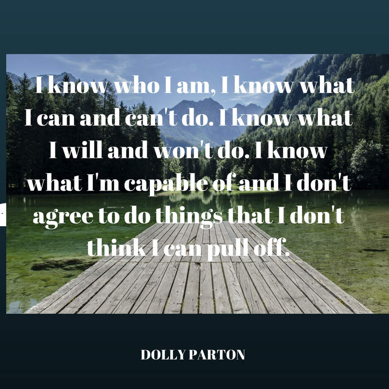 Dolly on Knowing Who She Is