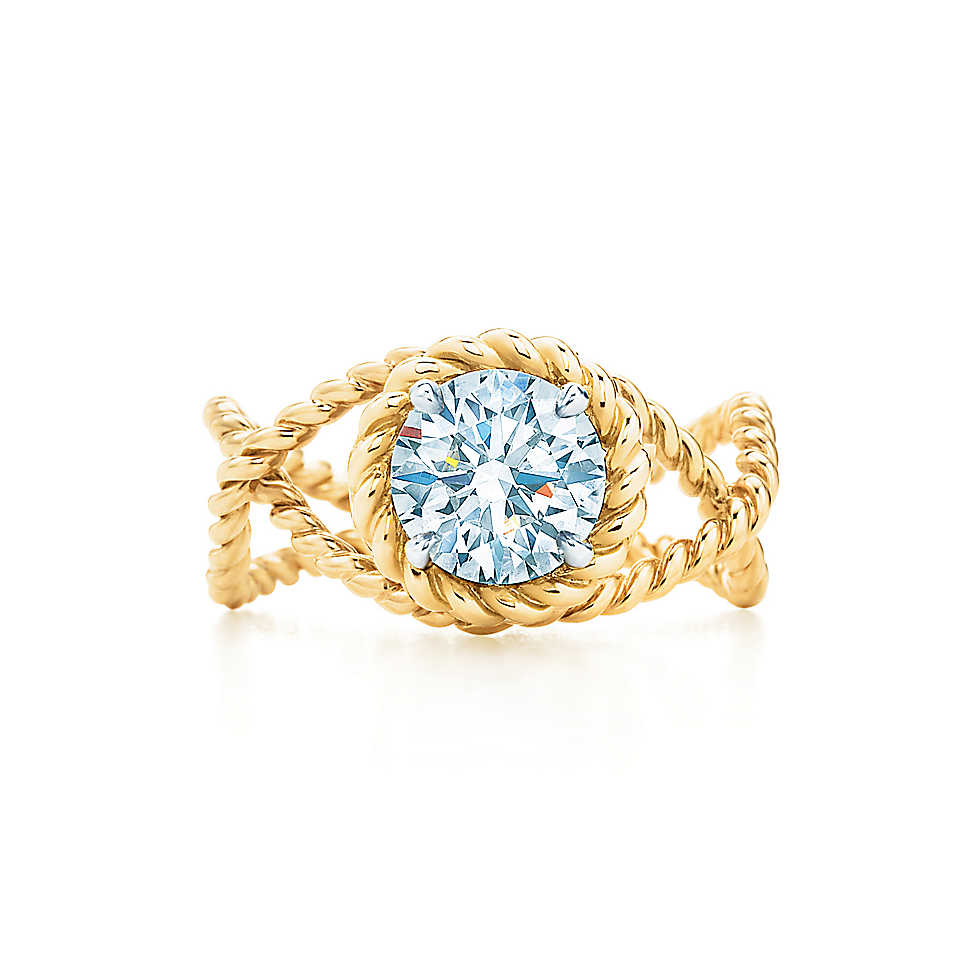 TIFFANY & CO. SCHLUMBERGER®  ROPE RING