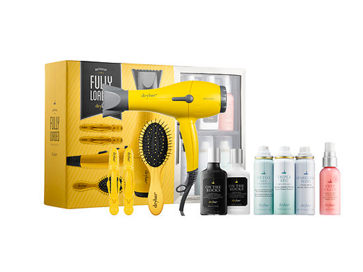 Drybar Buttercup Fully Loaded Set