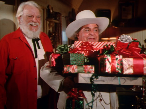 "The Dukes of Hazzard, ""The Great Santa Clause Chase"""