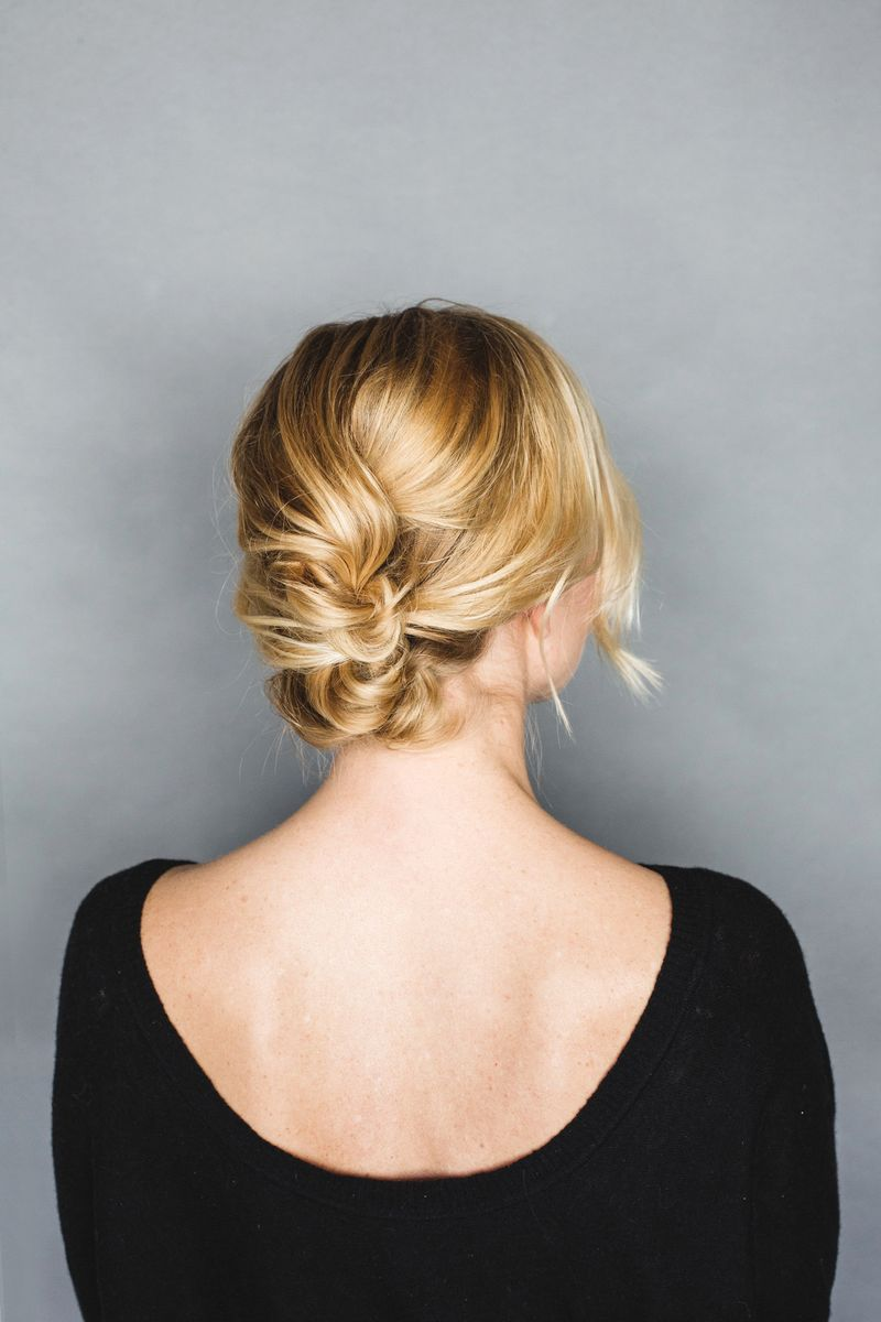 Easy Messy Up-do