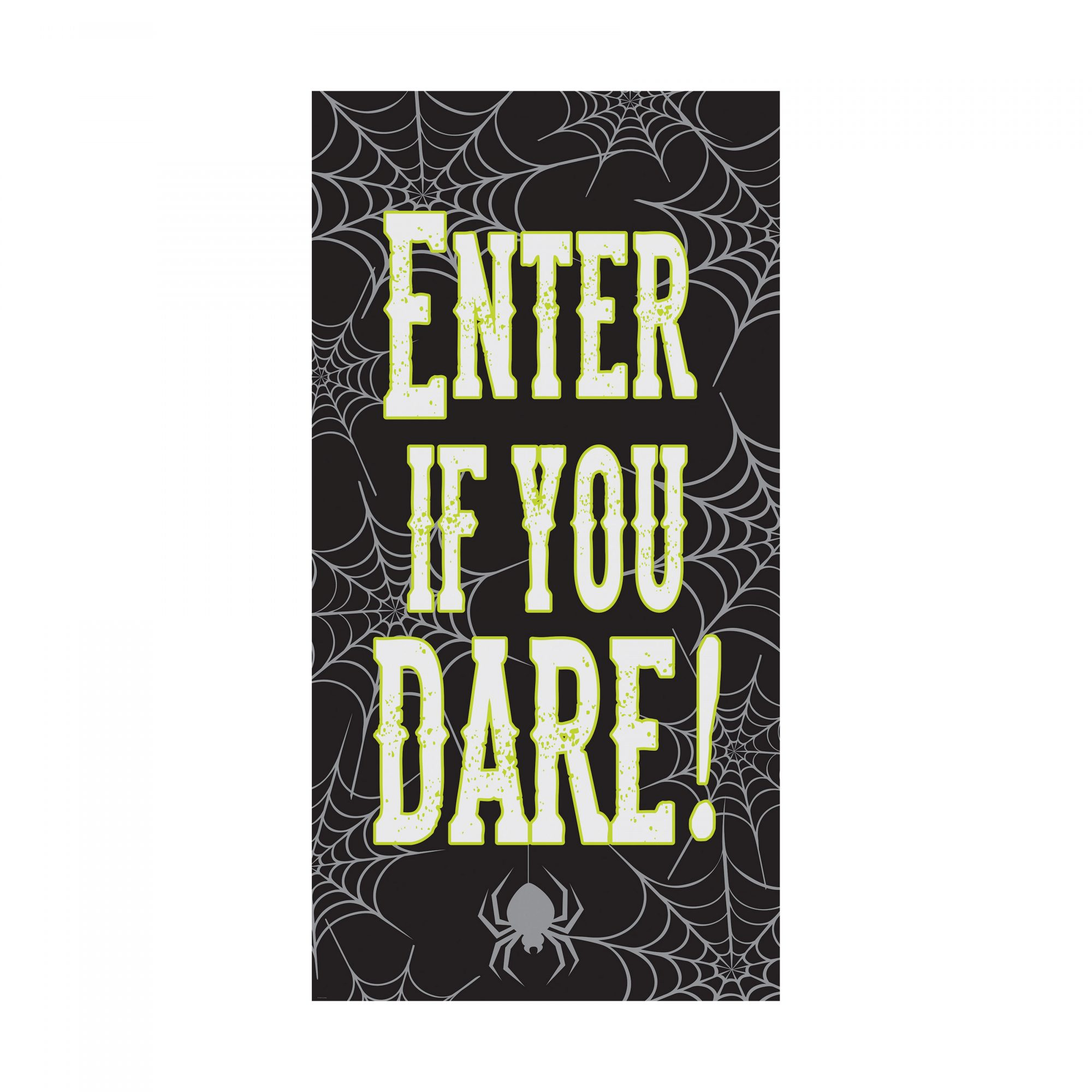 Enter If You Dare Door Decoration