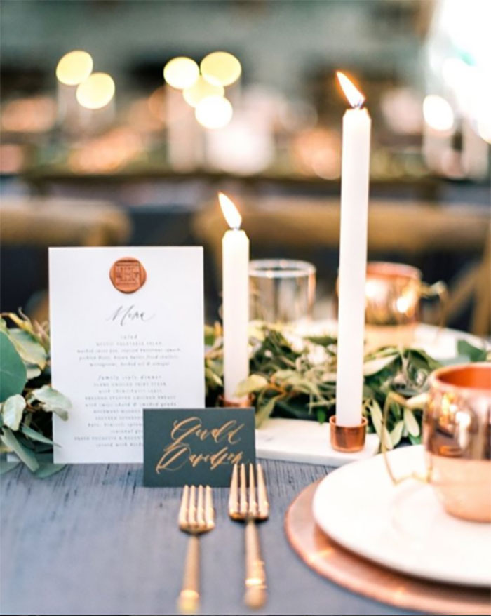 Copper Tablescape Jessica Sloane