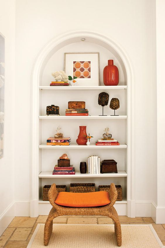 Styling Open Shelving