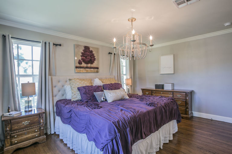 Master Bedroom Fixer Upper Home