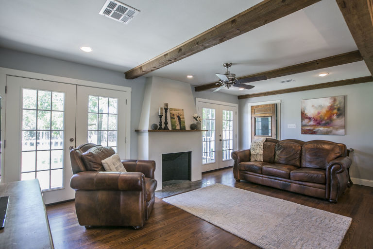 Living Room Fixer Upper Home