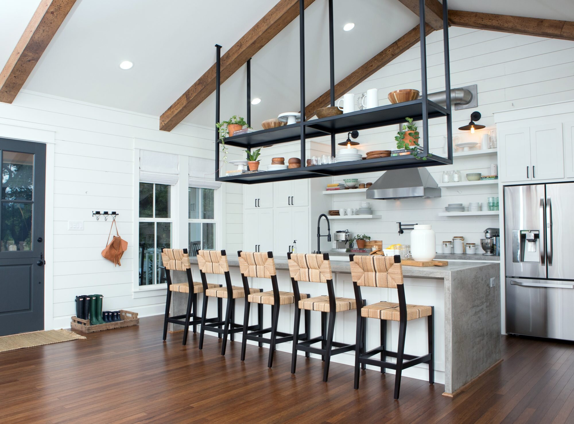 Genius Kitchen Storage Ideas We Re Stealing From Fixer Upper Southern Living