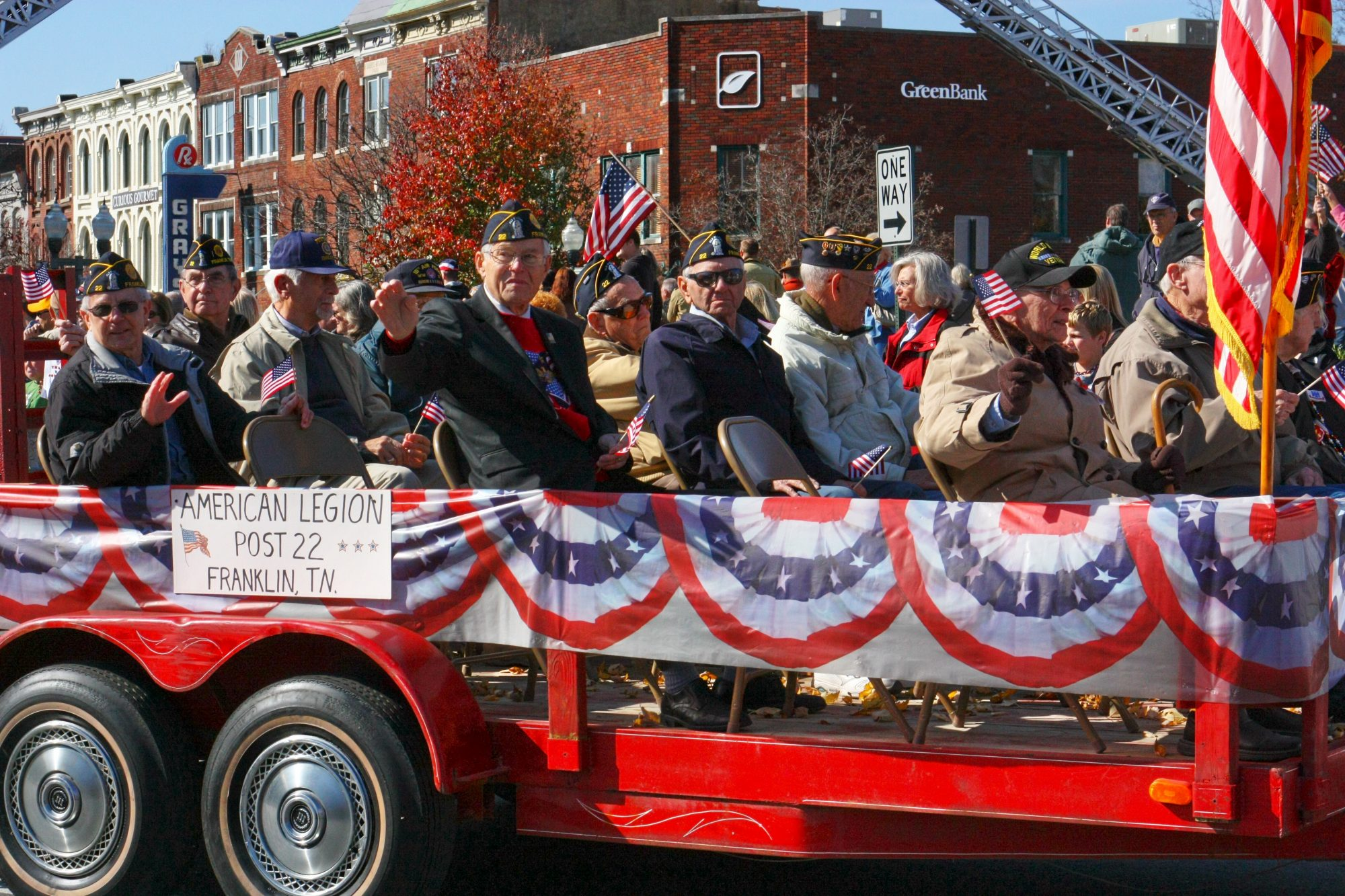 Franklin, TN Veteran's Day Parade